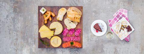 Nuestro delikatessen en su mesa